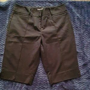 Apt.9 black dress Bermuda shorts